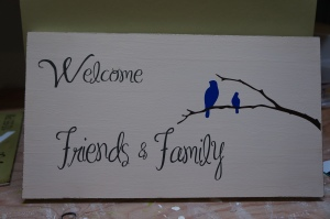 So Pretty in Paint: Welcome Friends & Family